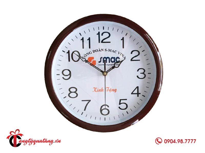 Quà tặng đồng hồ in logo
