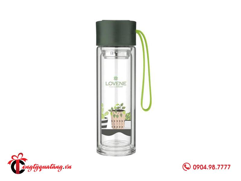 bình nước thuỷ tinh quà tặng