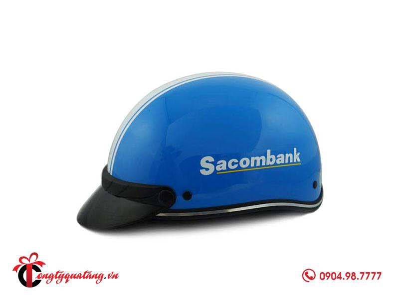 Mũ bảo hiểm quà tặng ngân hàng Sacombank