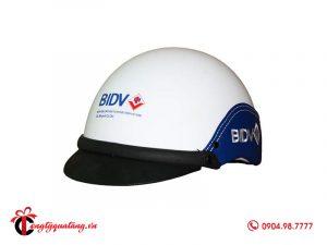 Nón bảo hiểm in logo BIDV