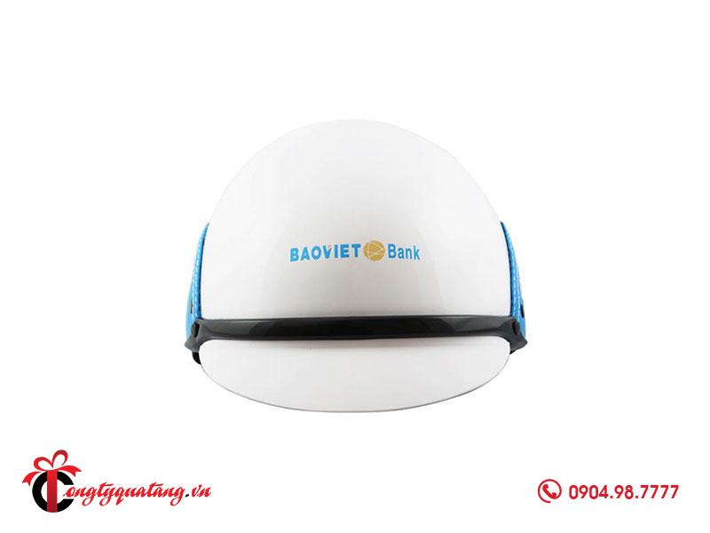 Quà tặng nón bảo hiểm Bảo Việt Bank