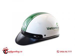 Quà tặng mũ bảo hiểm Ngân Hàng Vietcombank