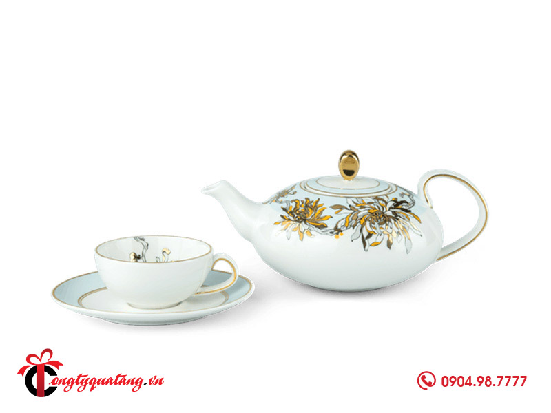 Bộ trà elip 0.47 L Anna An Nhiên 2