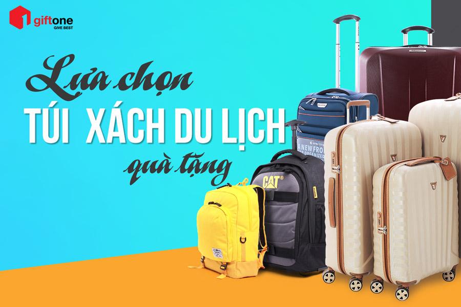 lựa chọn túi xách du lịch quà tặng
